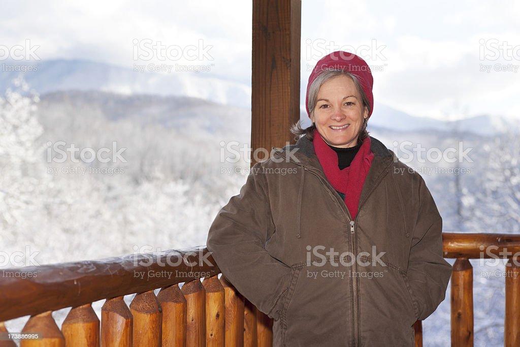 Snowbound Cabin Series (XXL) royalty-free stock photo