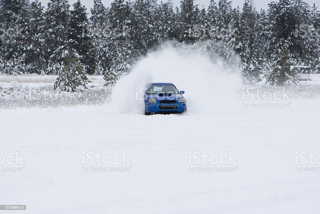 snowcross race stock photo