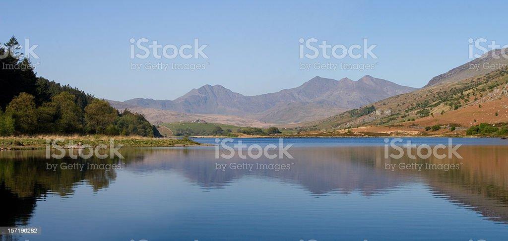 Snowdonia royalty-free stock photo