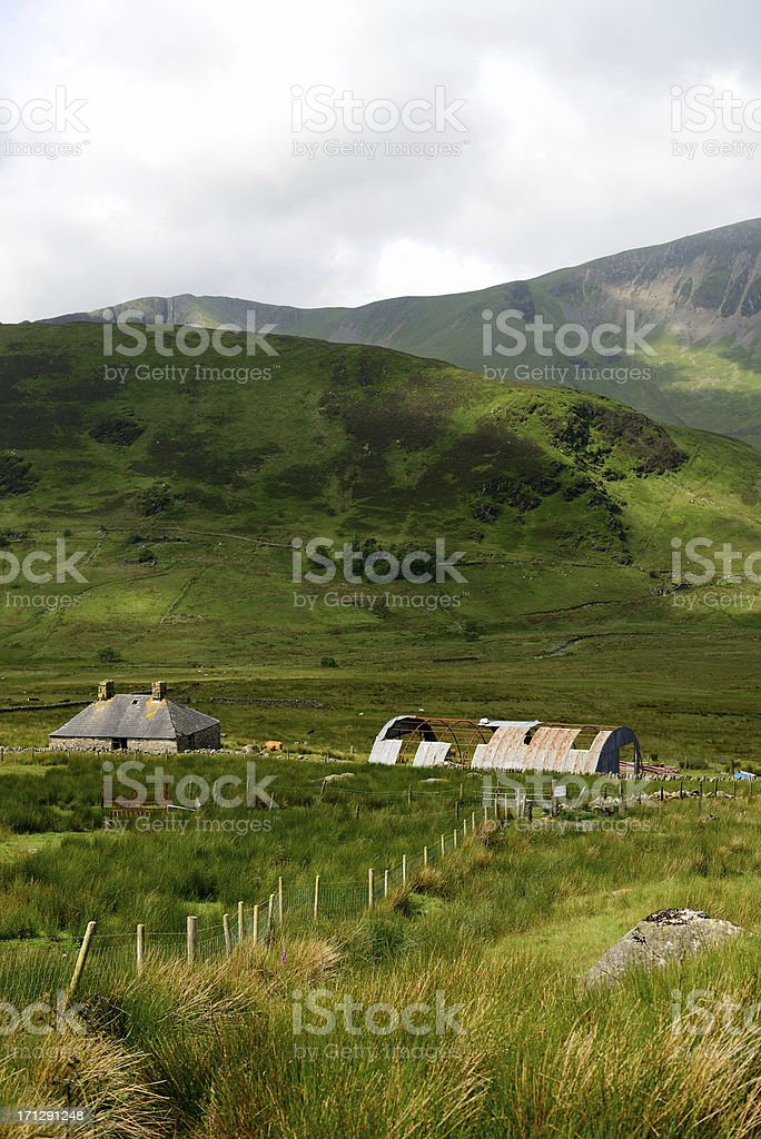 Snowdonia. royalty-free stock photo