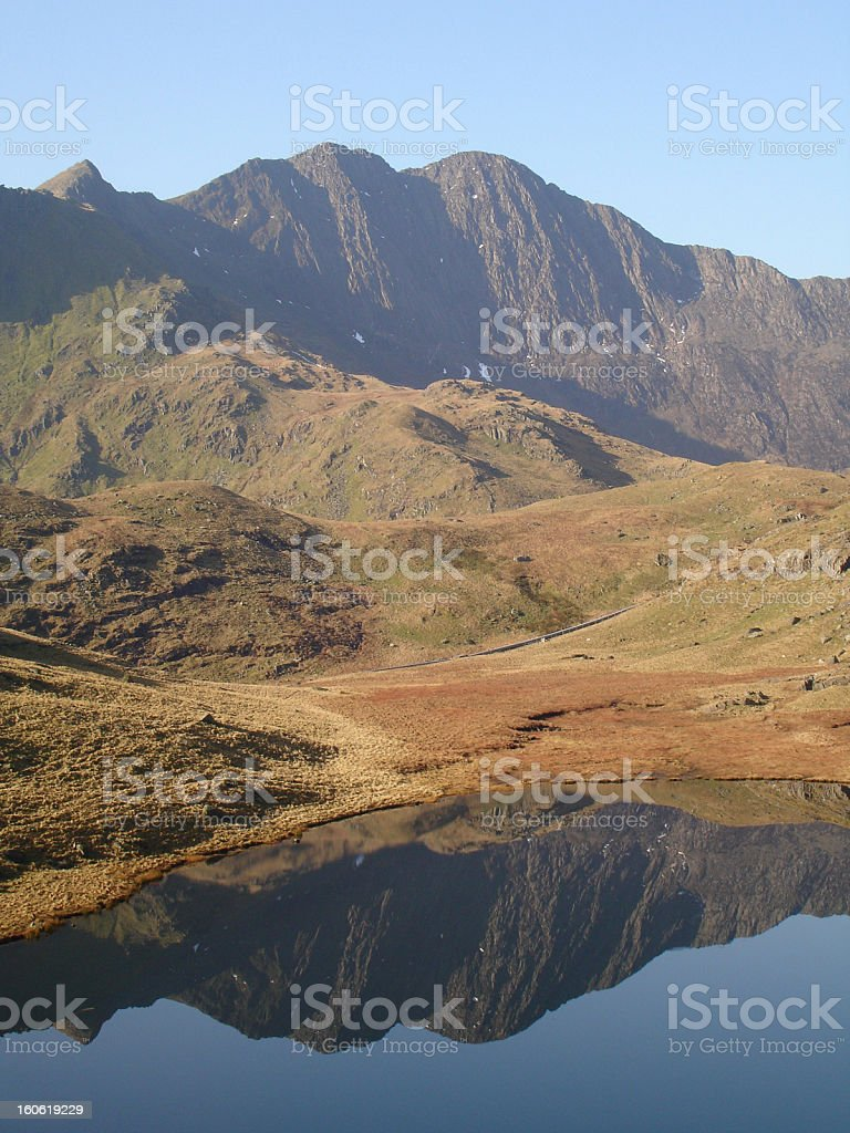 Snowdonia, Wales royalty-free stock photo