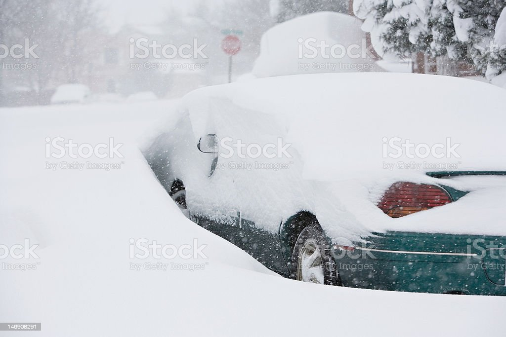 Snowed In royalty-free stock photo