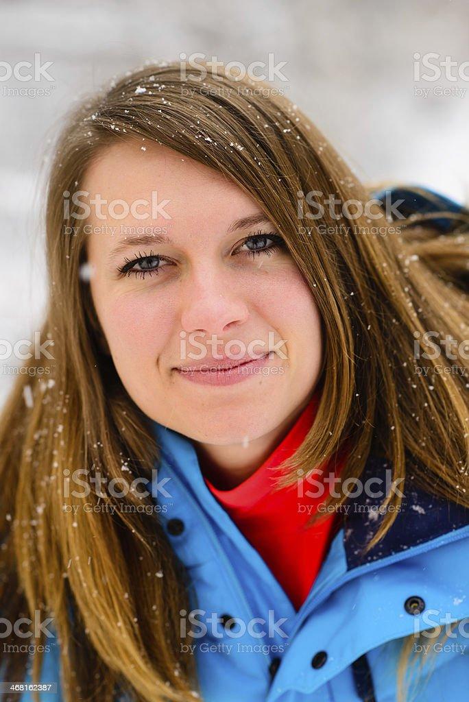 Snowfall Bliss royalty-free stock photo