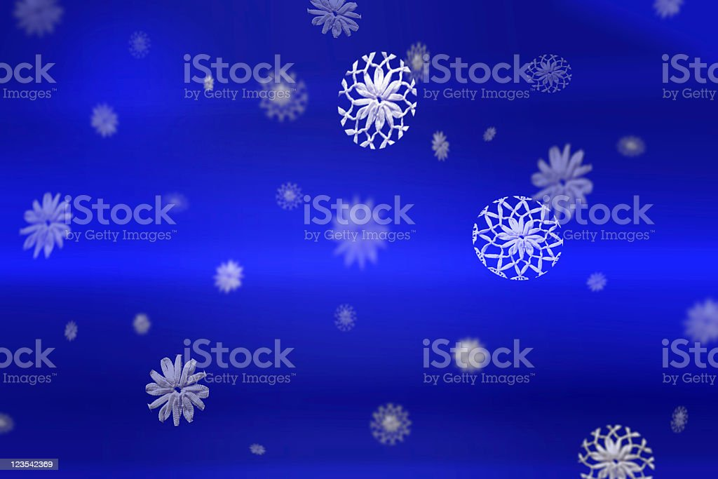 Snowflackes royalty-free stock photo