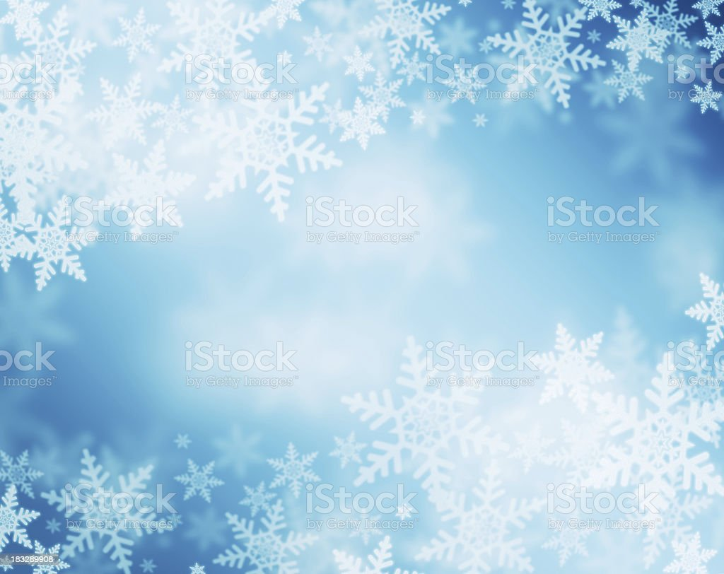 snowflake background stock photo