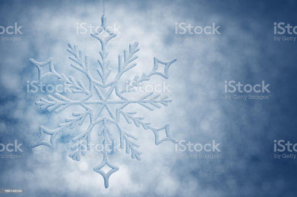 Snowflake big closeup royalty-free stock photo