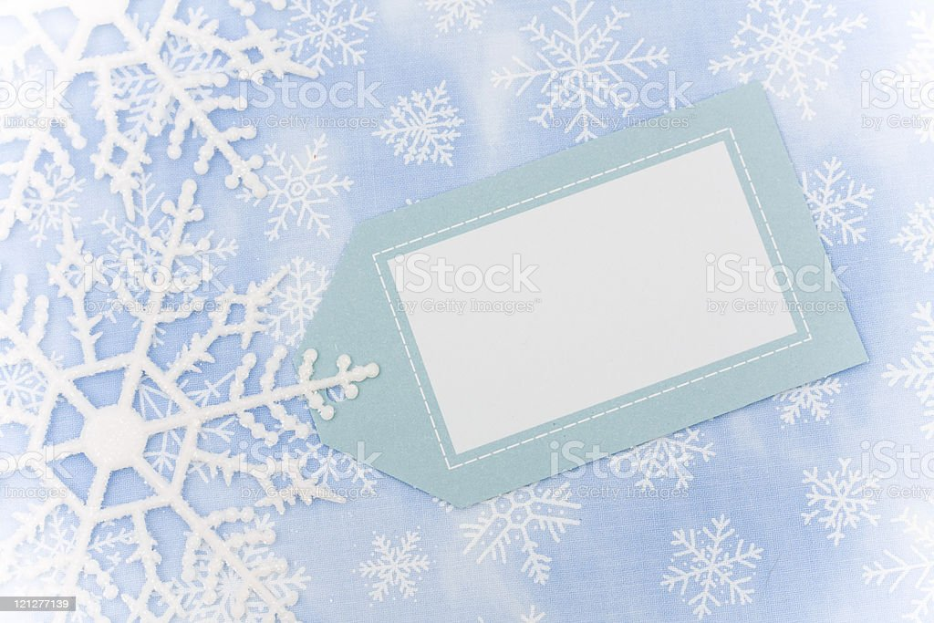 Snowflake Border royalty-free stock photo