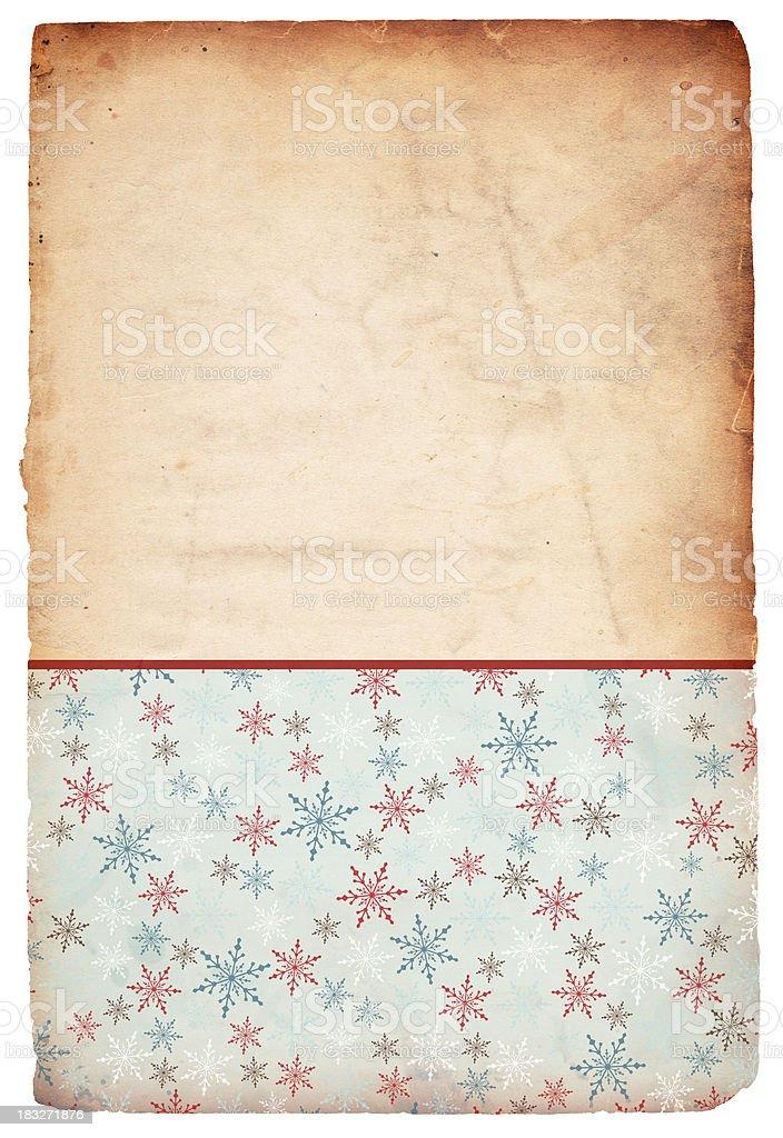 Snowflake Christmas Background - XXXL stock photo