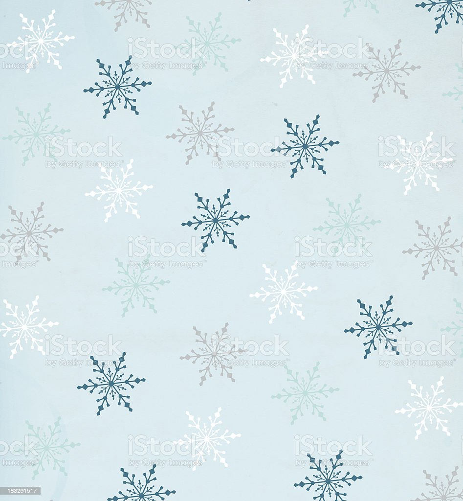 Snowflake Christmas Background - XXXL stock photo