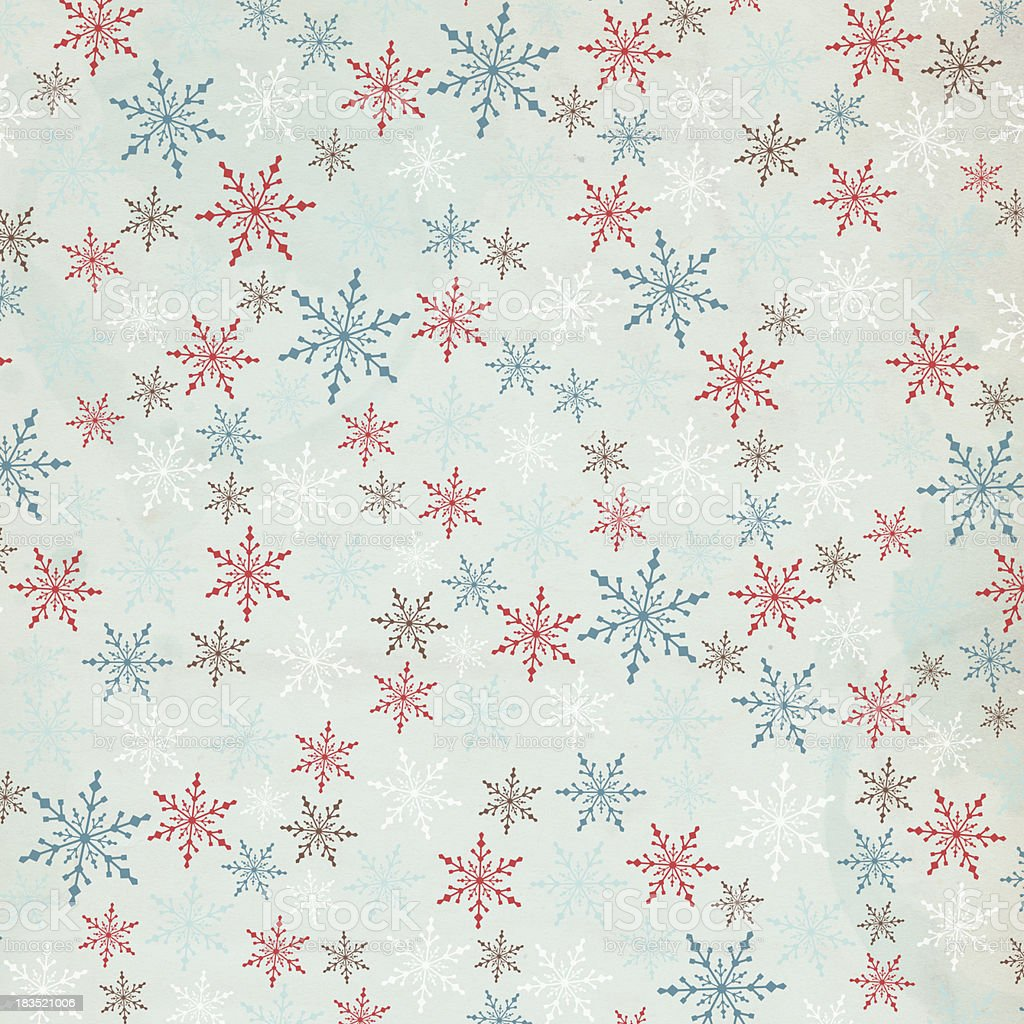 Snowflake Christmas Background - XXXL royalty-free stock photo