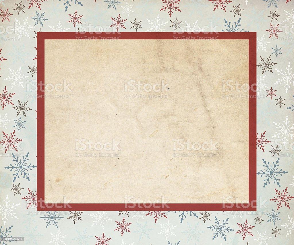 Snowflake Christmas Background - XXXL royalty-free stock photo