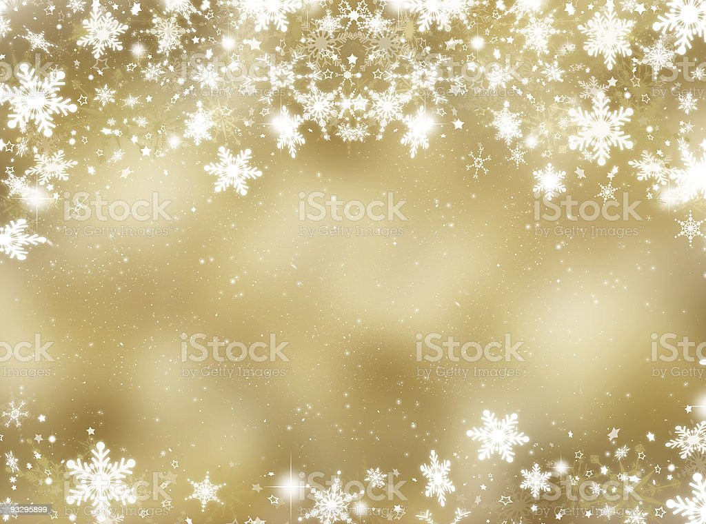 Snowflakes and stars royalty-free stock photo