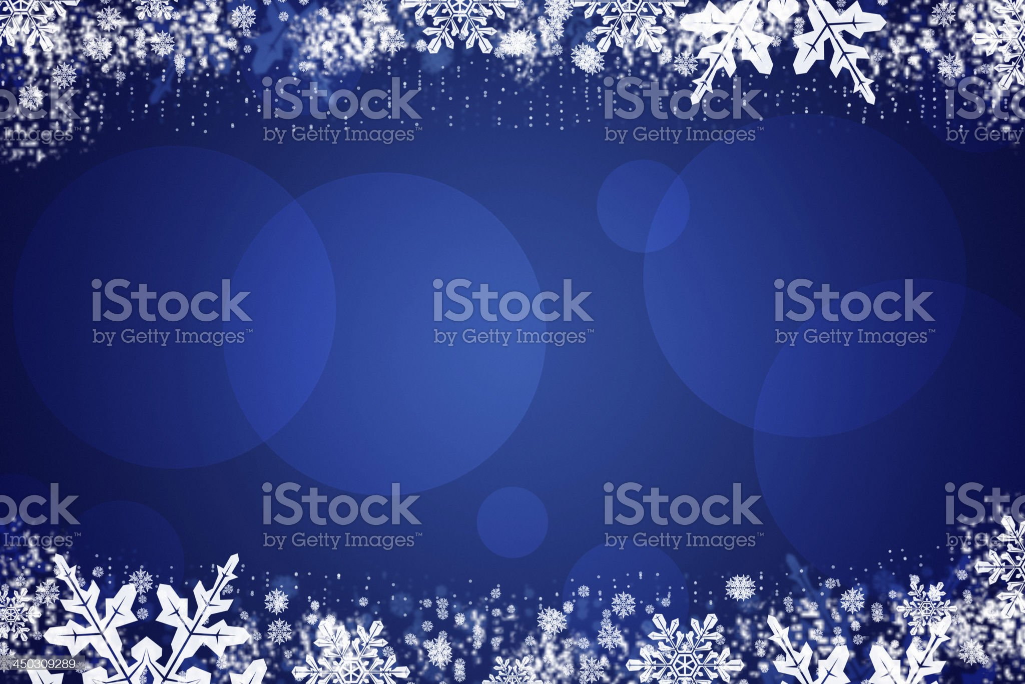 Snowflakes background royalty-free stock photo