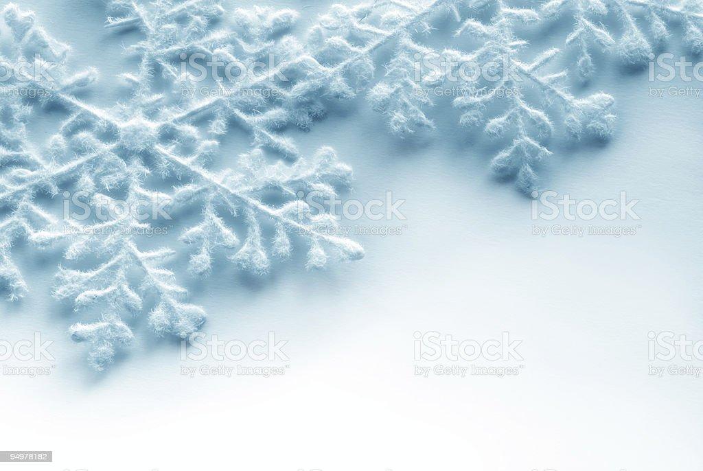 snowflakes royalty-free stock photo