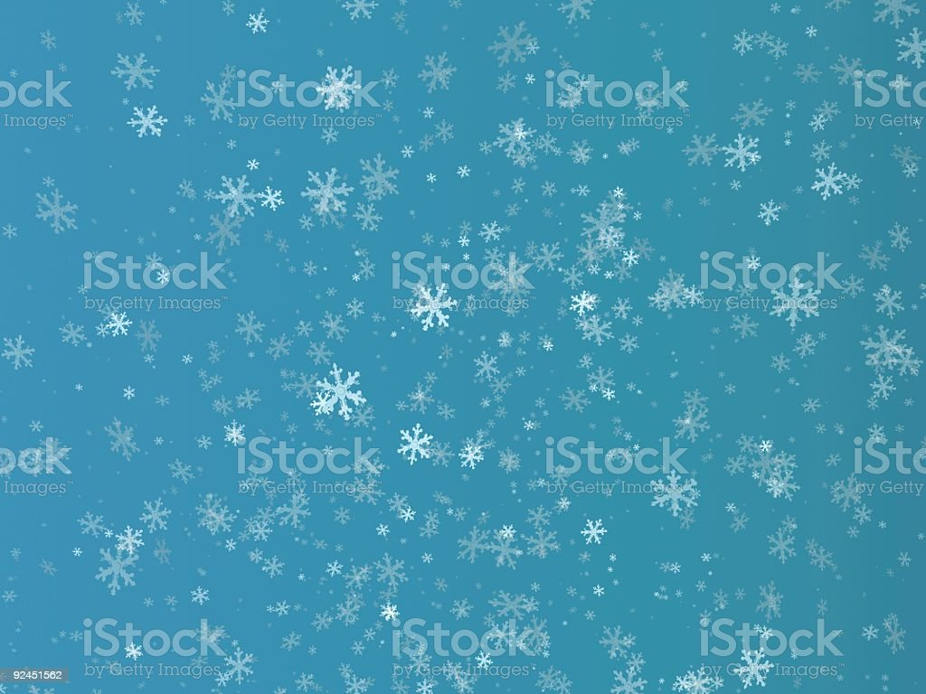 Snowflakes XL Size royalty-free stock photo