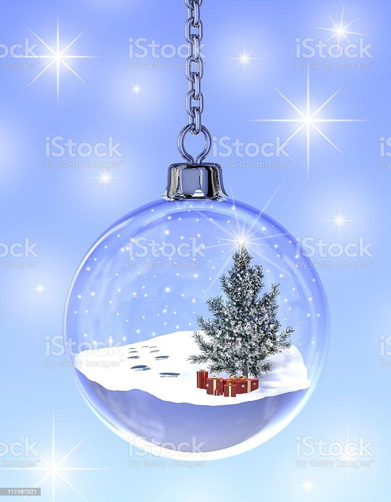 Snowglobe stock photo
