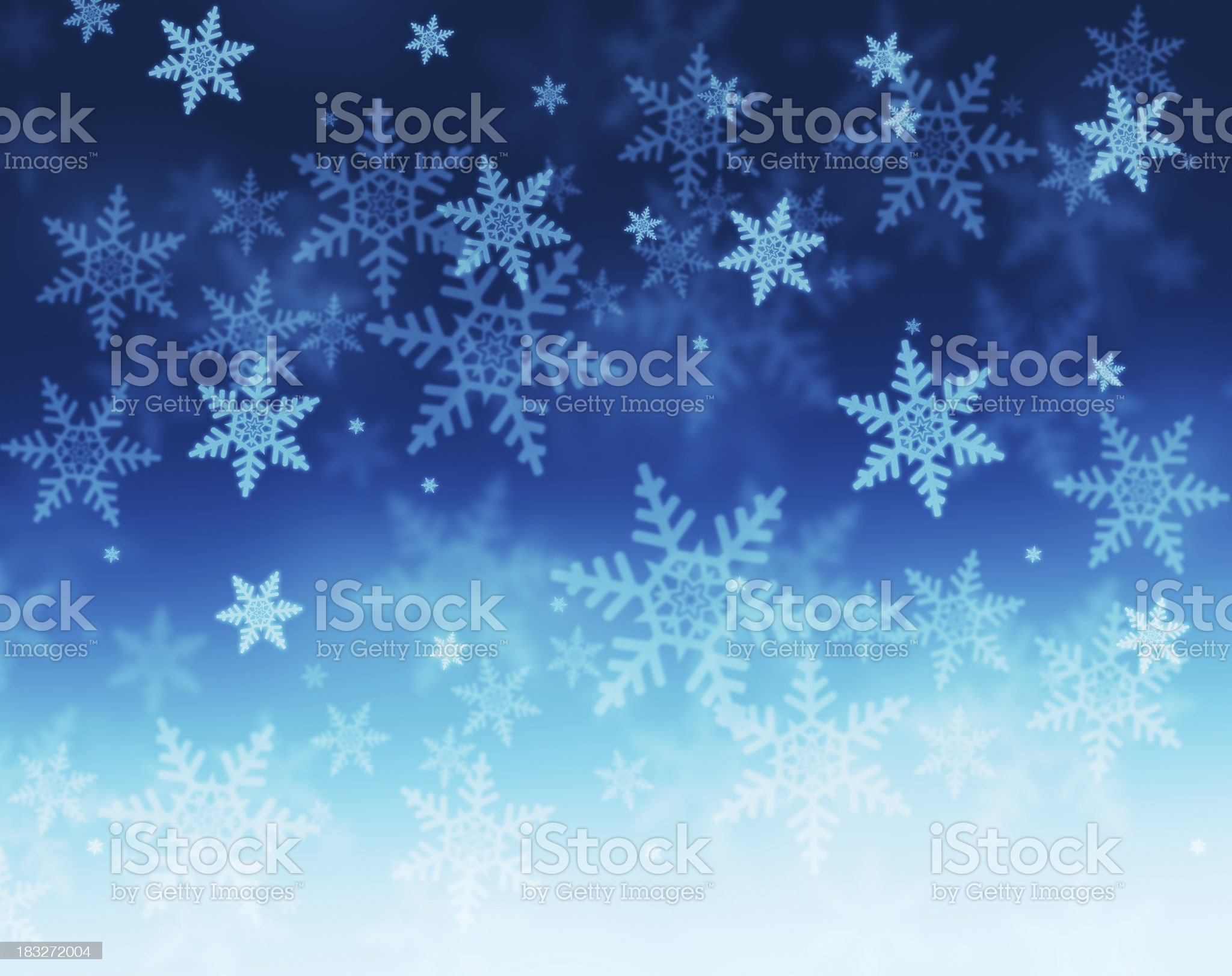 snowing royalty-free stock photo