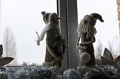 snowman charm guardian straw