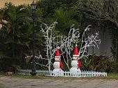 Snowman in Hoi An