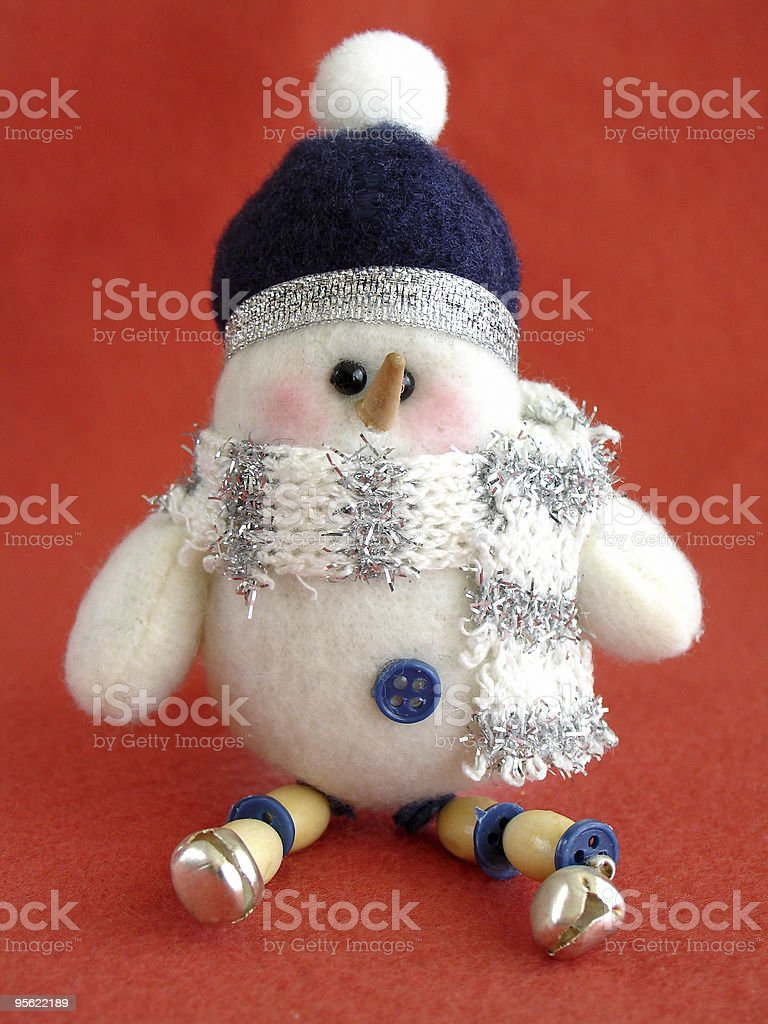 snowman royalty-free stock photo