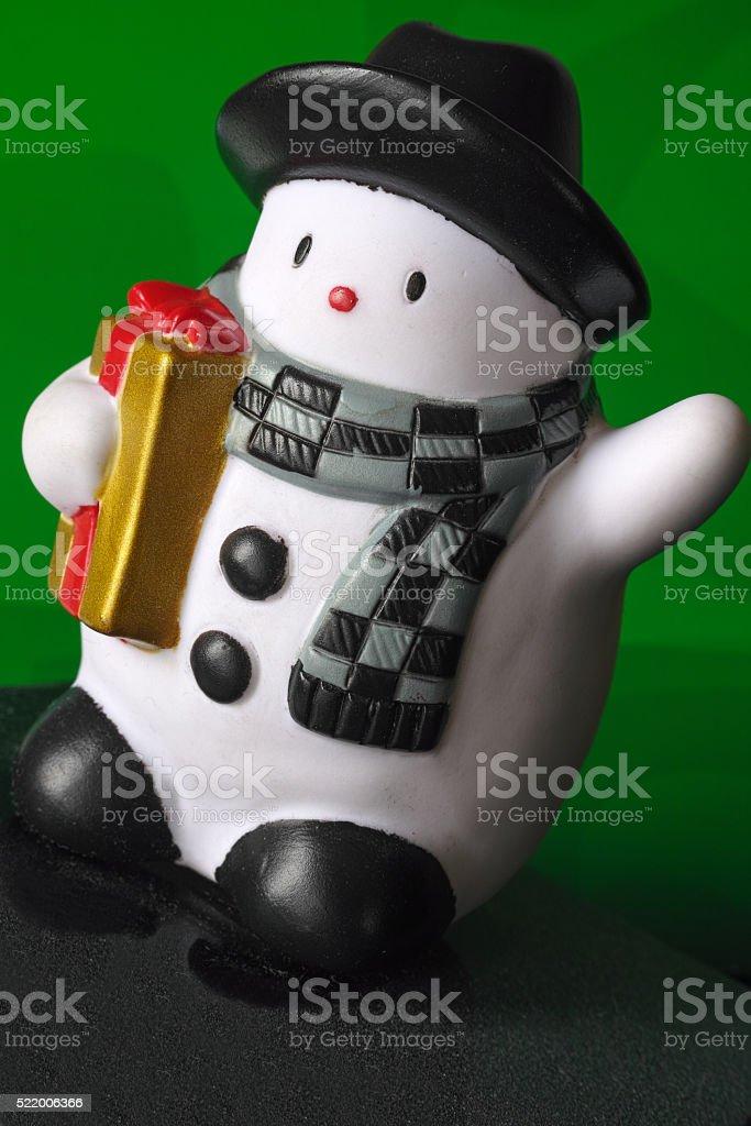 Snowman toy royalty-free stock photo