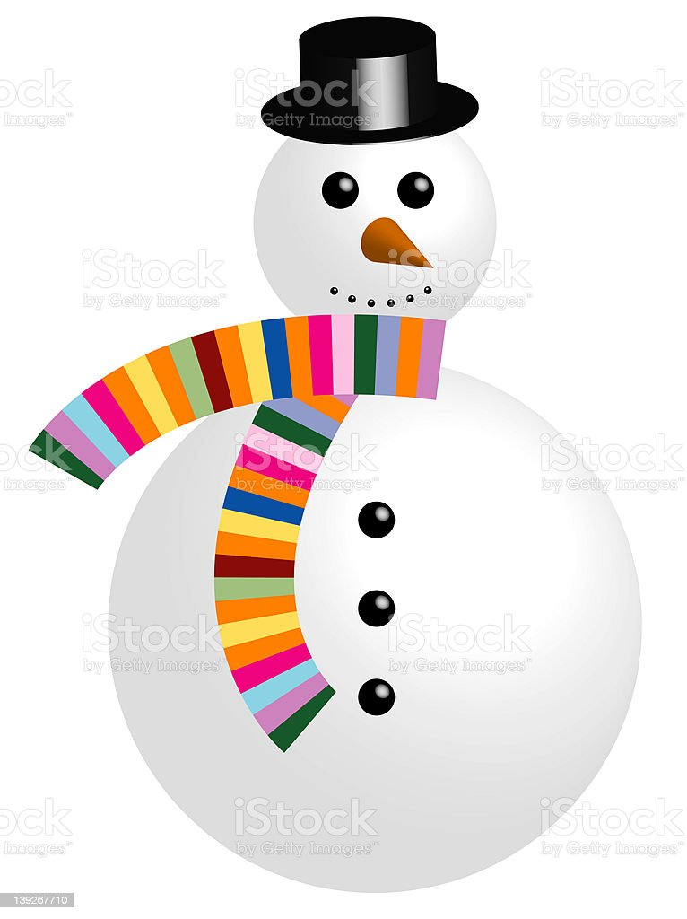 snowman.jpg royalty-free stock vector art