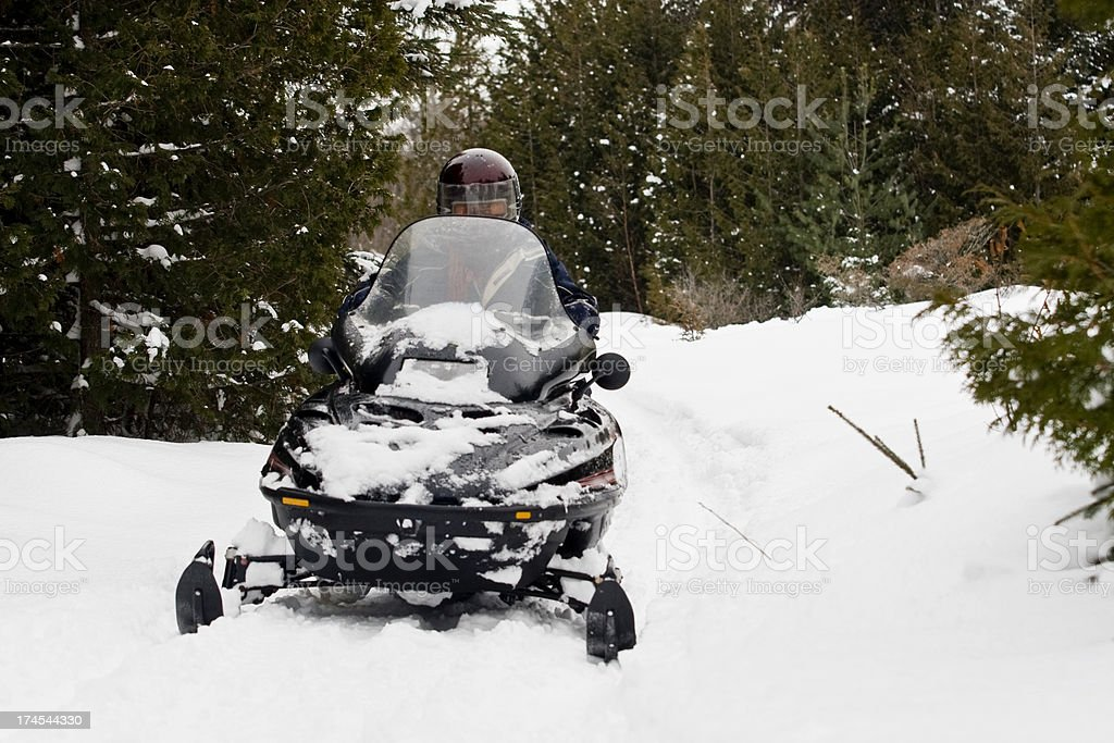 snowmobile II royalty-free stock photo