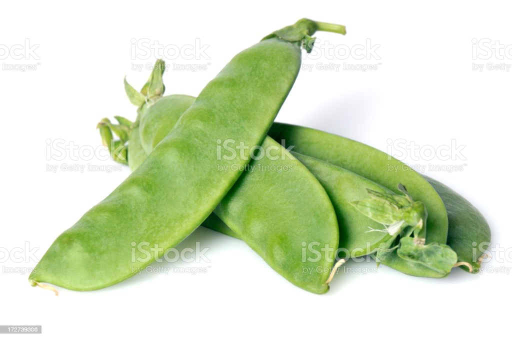 Snowpeas royalty-free stock photo