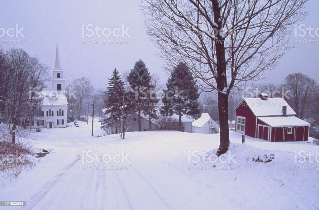 Snowstorm royalty-free stock photo