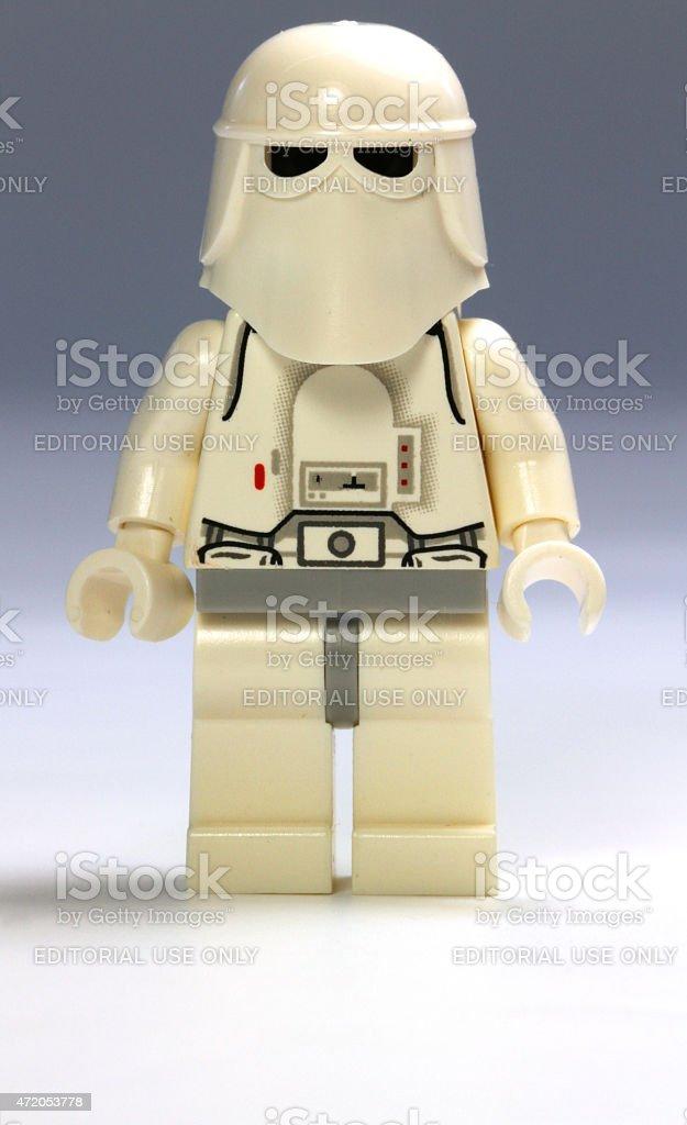 Snowtrooper stock photo
