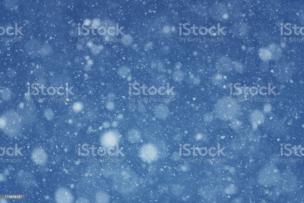 Snowy Background stock photo