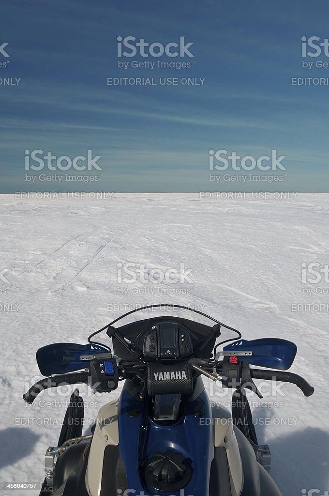 Snowy Barrens royalty-free stock photo