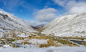 Snowy Kirkstone Pass Panoramic