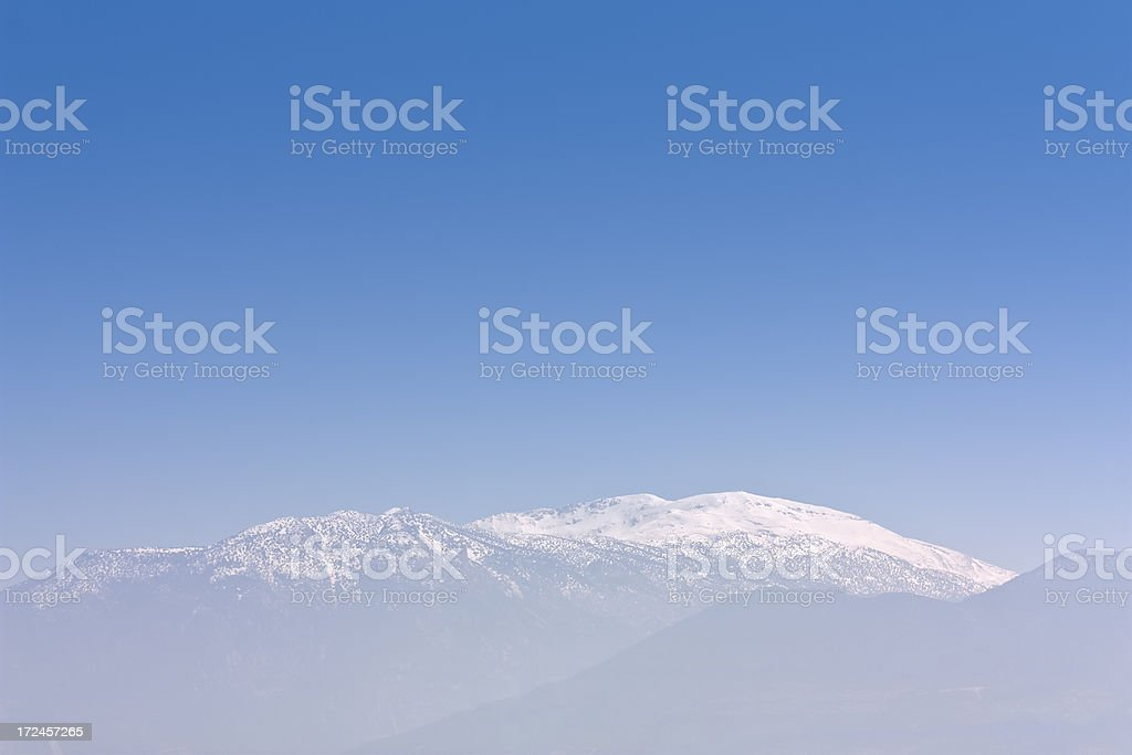 snowy mountain peak, outdoor photo beauty in nature royalty-free stock photo