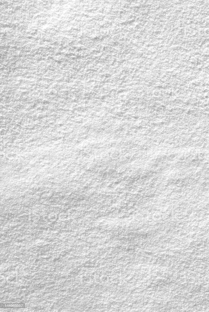 Snowy texture stock photo