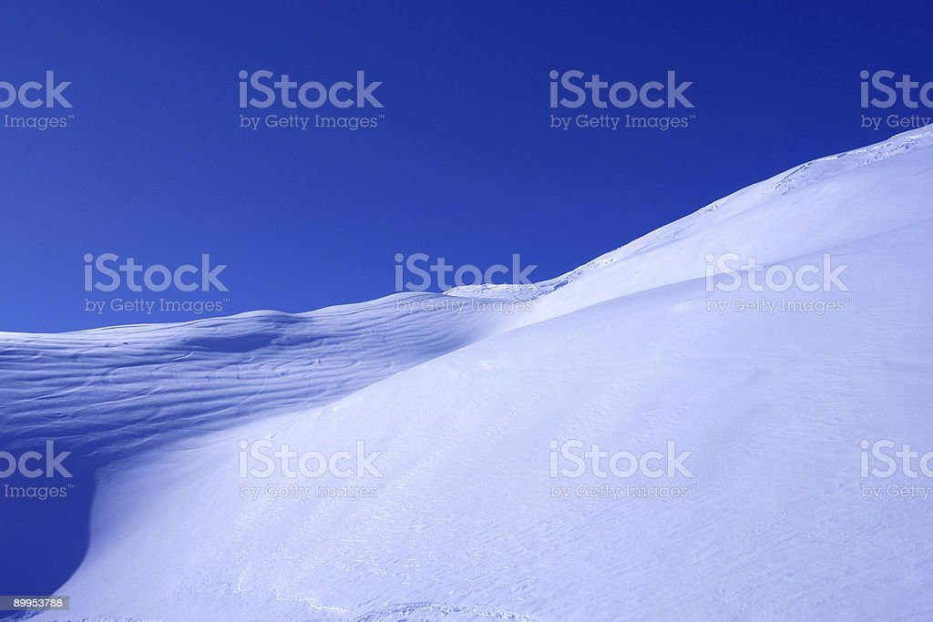 Snowy Wave royalty-free stock photo