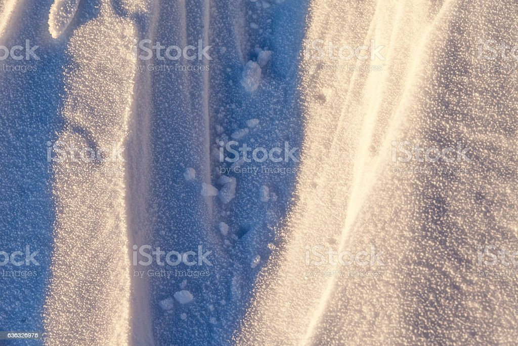 Snowy weather. It dropped a lot of snow. Background and stock photo