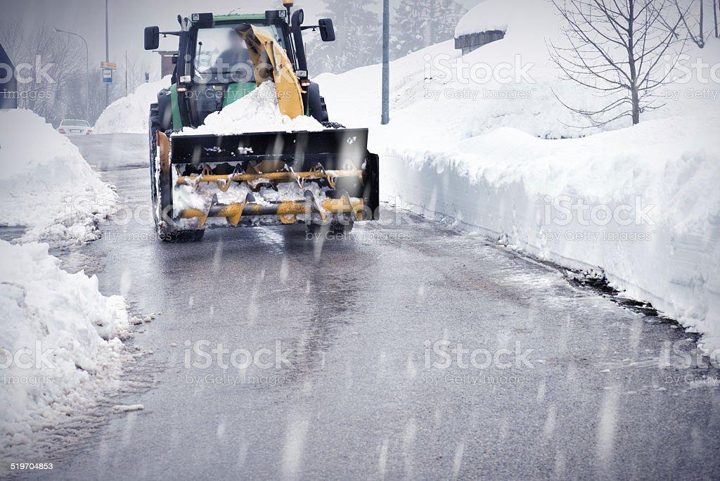 Snowy Winter stock photo