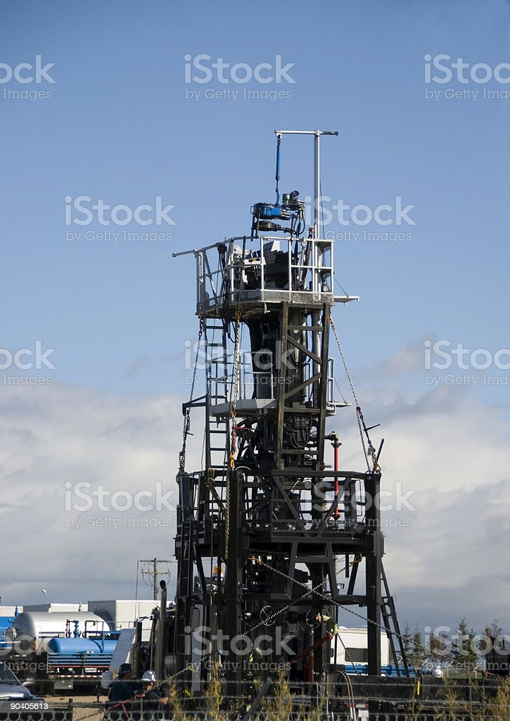 Snubbing unit royalty-free stock photo