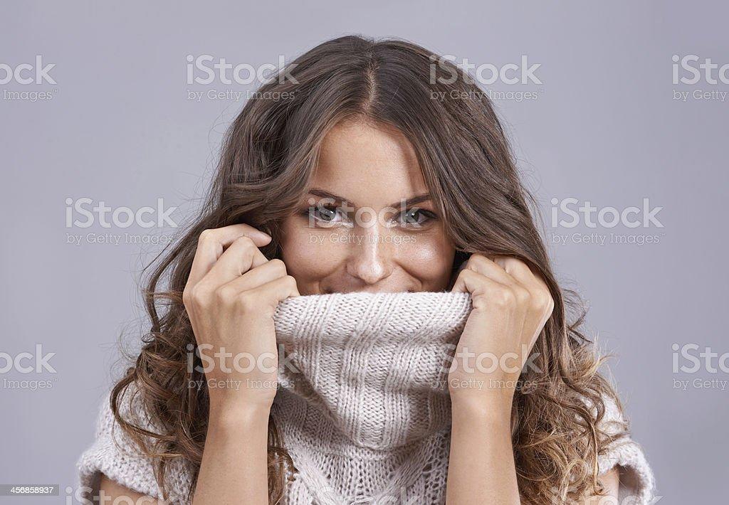 Snug and cosy stock photo