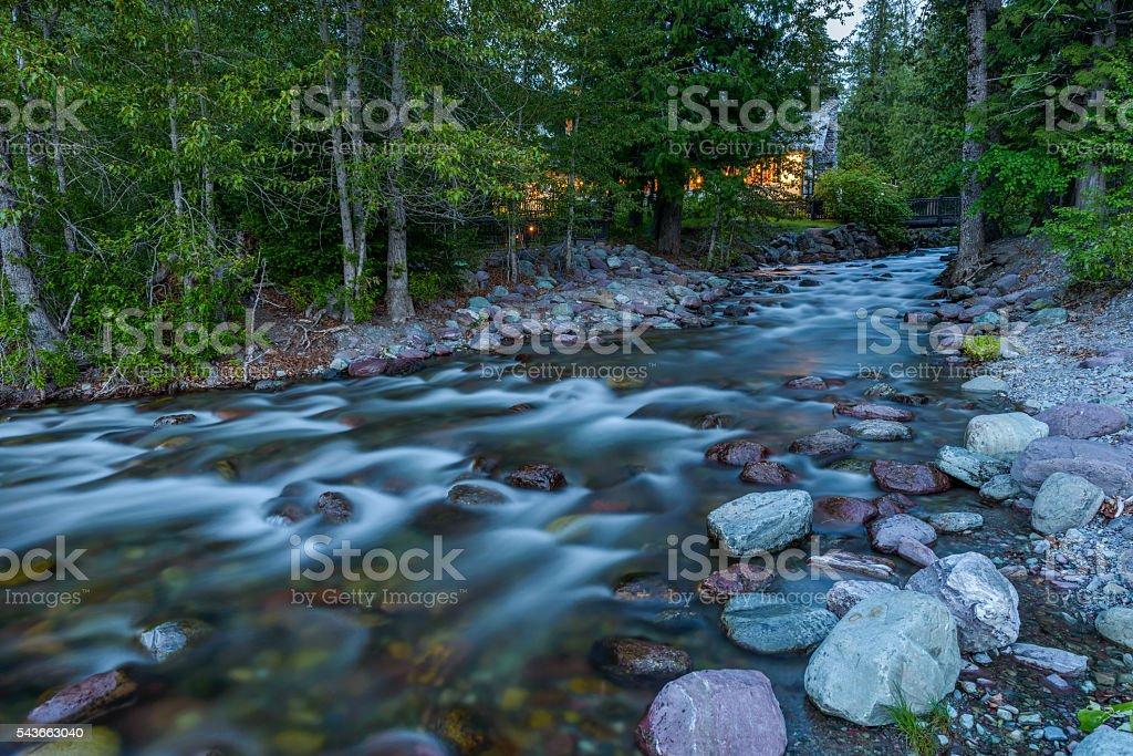 Snyder Creek stock photo