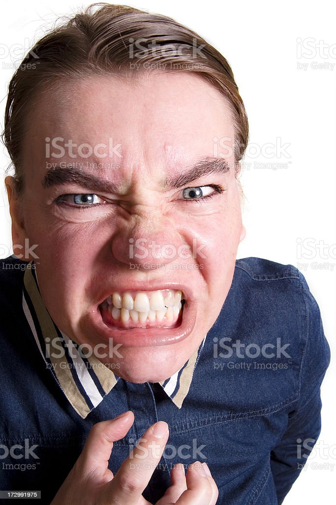 So angry royalty-free stock photo