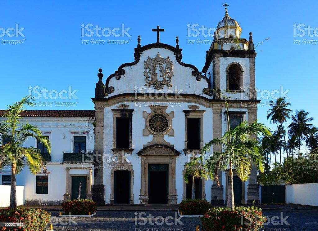 São Bento church, Olinda, Brazil, UNESCO world heritage site royalty-free stock photo