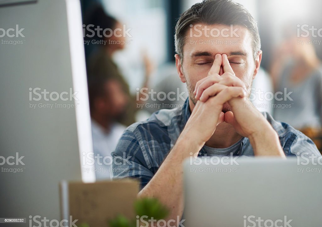 So close to breaking point... stock photo