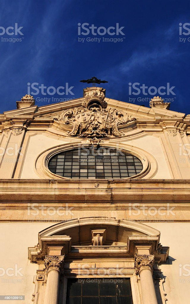 São Domingos church, Lisbon, Portugal stock photo