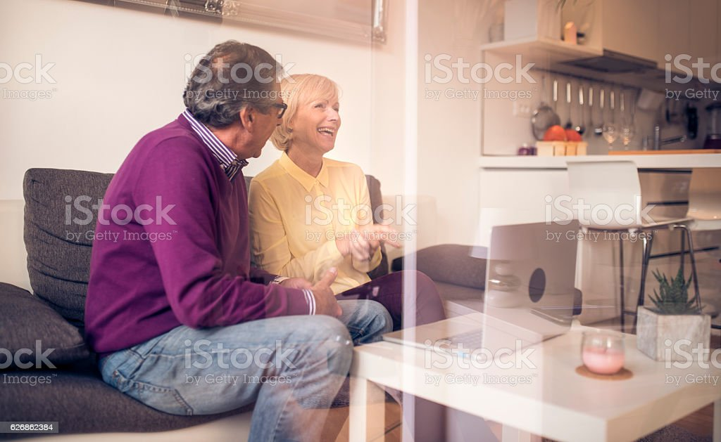 So happy with you stock photo