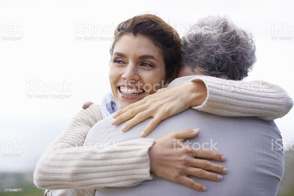 So in love after all these years... royalty-free stock photo