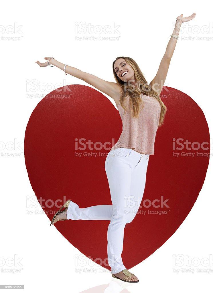 So in love! royalty-free stock photo