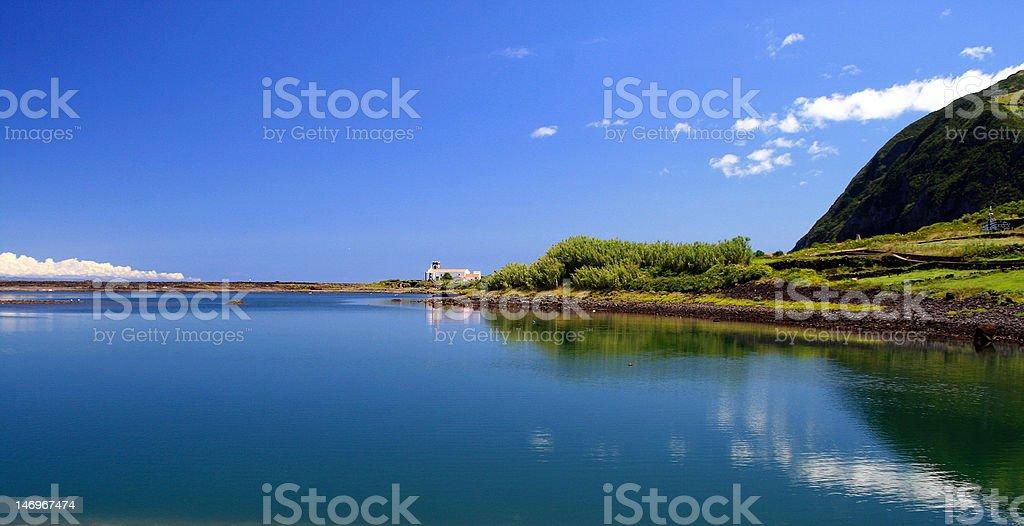 São Jorge Island, Azores royalty-free stock photo