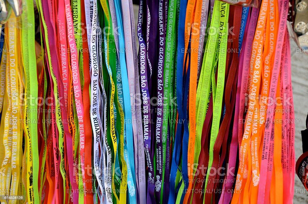 São José de Ribamar ribbons stock photo